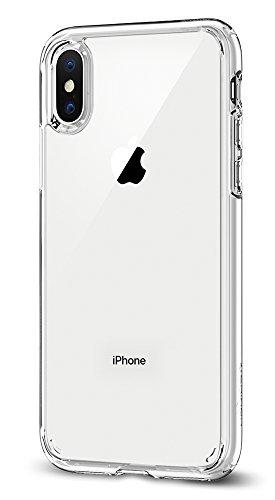 【Spigen】iPhone X ケース, [ 全面 クリア ] [ 米軍M...