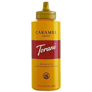 トラーニ キャラメルソース 468g