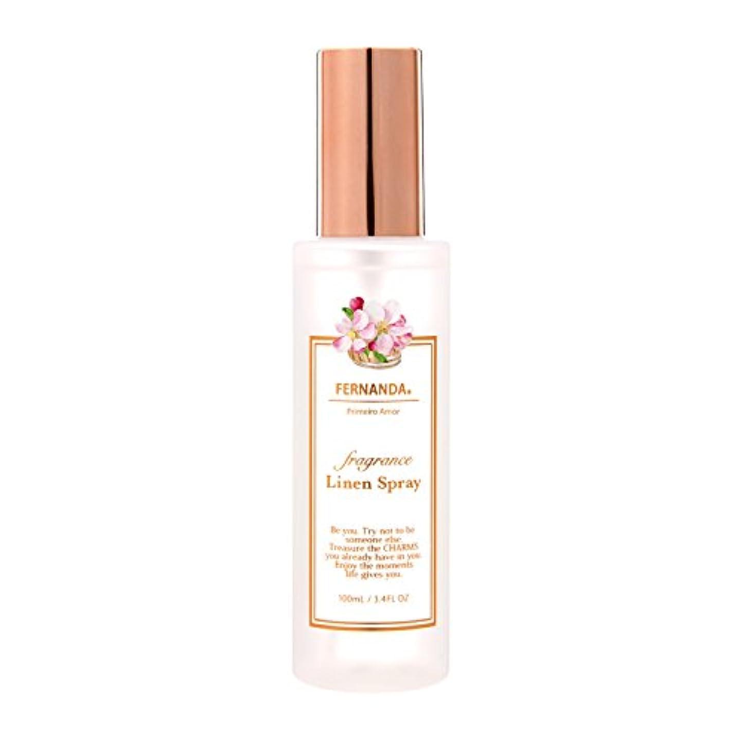植物の専門用語結果FERNANDA(フェルナンダ) Linen Spray Primeiro Amor(リネンスプレー プリメイロアモール)