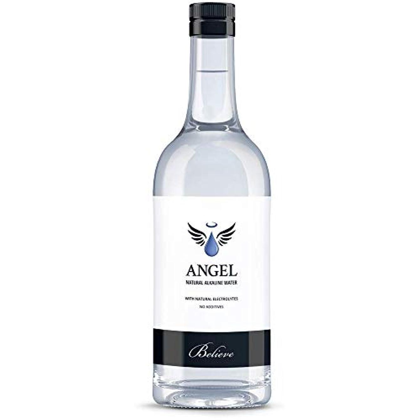 社会レンダリング破壊的Angel Revive 250 ml Still Water Pack of 12 Glass Bottles エンジェルリバイブ たまり水