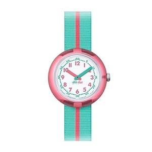 [フリック フラック]FLIK FLAK 腕時計 PINK BAND (ピンク・バンド) Power Time 5+キッズ ガールズ FPNP020 カラー・ブロック 【正規輸入品】 FPNP020 ガールズ 【正規輸入品】