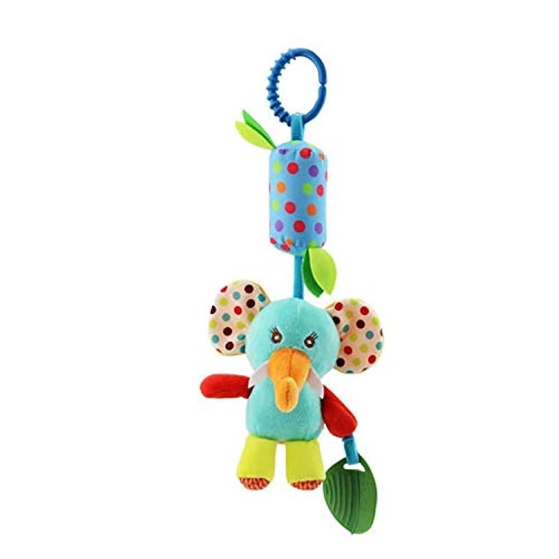 もろいコピー少なくともSANDIN 新生児用カーシートベッド旅行活動ぬいぐるみ動物風鈴男の子用ティーザー付き 赤ちゃん乳母車のベビーカーのおもちゃガラガラ音を立てて鳴る鳴き声知育玩具 Like