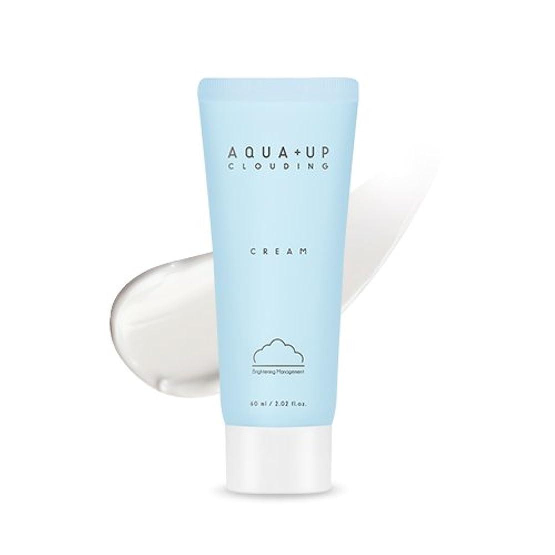 維持粗い許容APIEU (AQUA+UP) Clouding Cream/アピュアクアアップクラウドディングクリーム 60ml [並行輸入品]