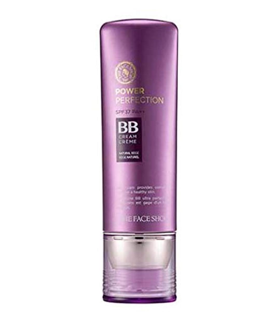 ドキュメンタリー雷雨強大な[ザ?フェイスショップ] THE FACE SHOP [パワー パーフェクションBBクリーム 40g - V103 Pure Beige] Power Perfection BB Cream 40g V103