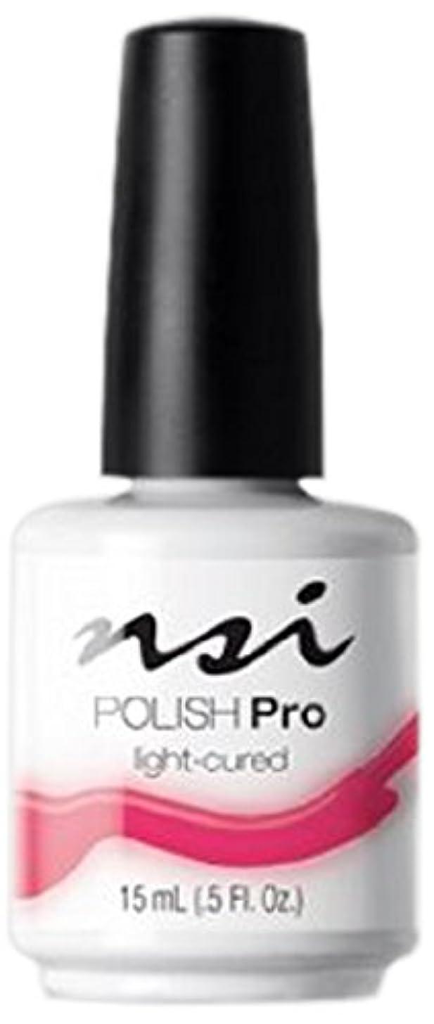 誤退屈な咳NSI Polish Pro Gel Polish - V-I-Pink - 0.5oz / 15ml