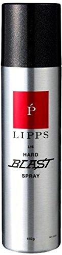 【長時間キープ・バリバリに固まらない】LIPPS L16ハードブラストスプレー150g