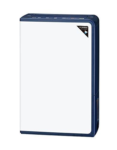 コロナ 衣類乾燥除湿機 除湿量18L(木造20畳・鉄筋40畳まで) エレガントブルー CD-H18A(AE)
