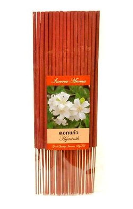 おいしい精神的に軽蔑タイのお香 スティックタイプ [HYACINTH/ヒヤシンス] インセンスアロマ 約50本入りアジアン雑貨