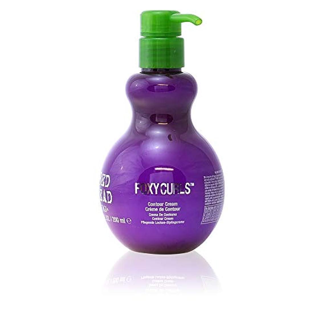 用心距離評価するティジー ベッドヘッド フォクシーカール コントゥア クリーム Tigi Bed Head Foxy Curls Contour Cream 200ml [並行輸入品]