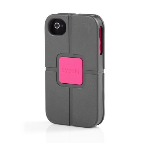 SYSTM by Incase Vise Case for iPhone 4S / 4 - Asphalt/Pink - SY10004 [並行輸入品]