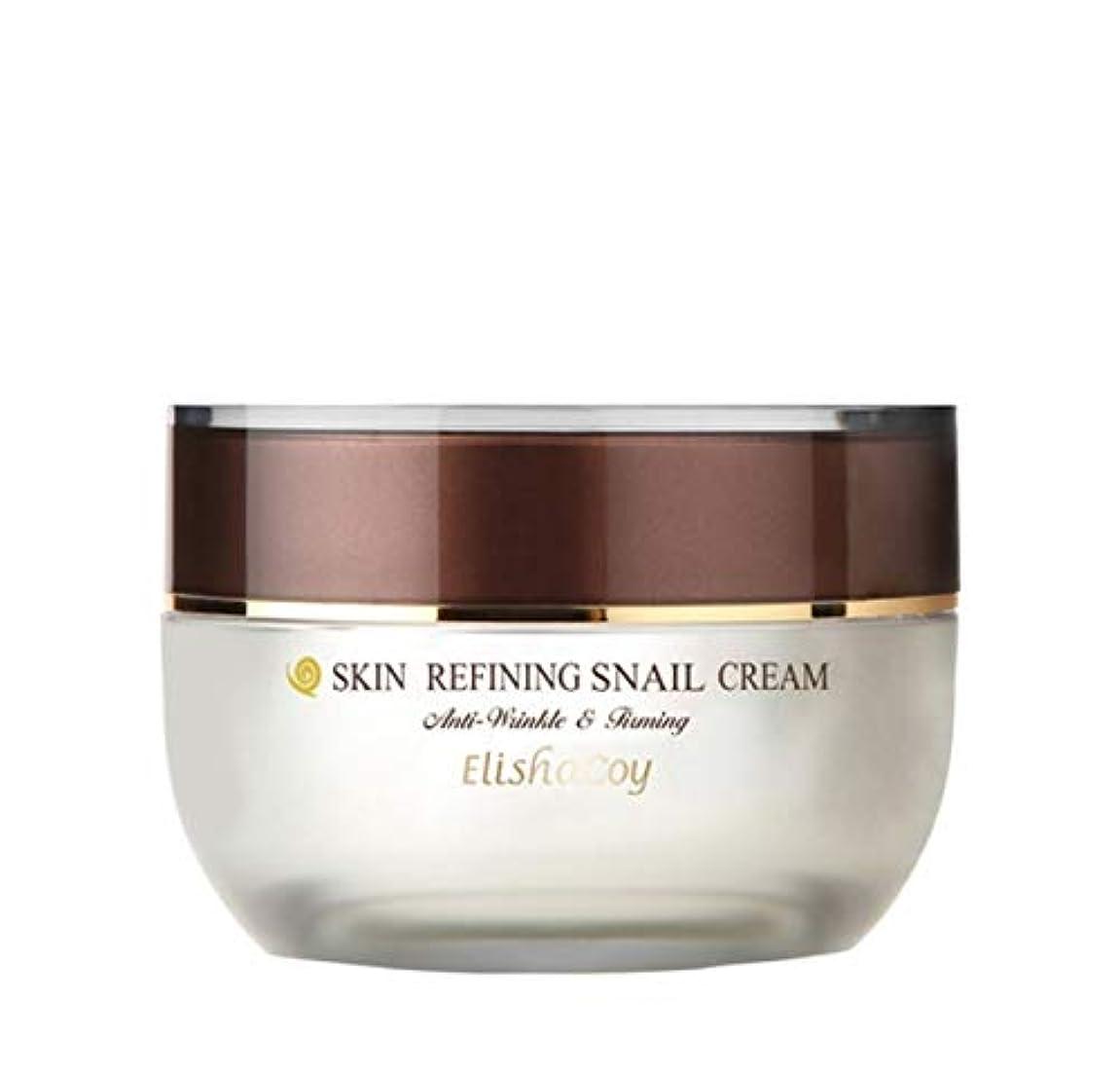 恥配当万歳エリシャコイ Elishacoy SKIN REFINING SNAIL 韓国の人気水分クリーム CREAM 50g 保湿最強 Korean Beauty Womens Cosmetics Skin Care