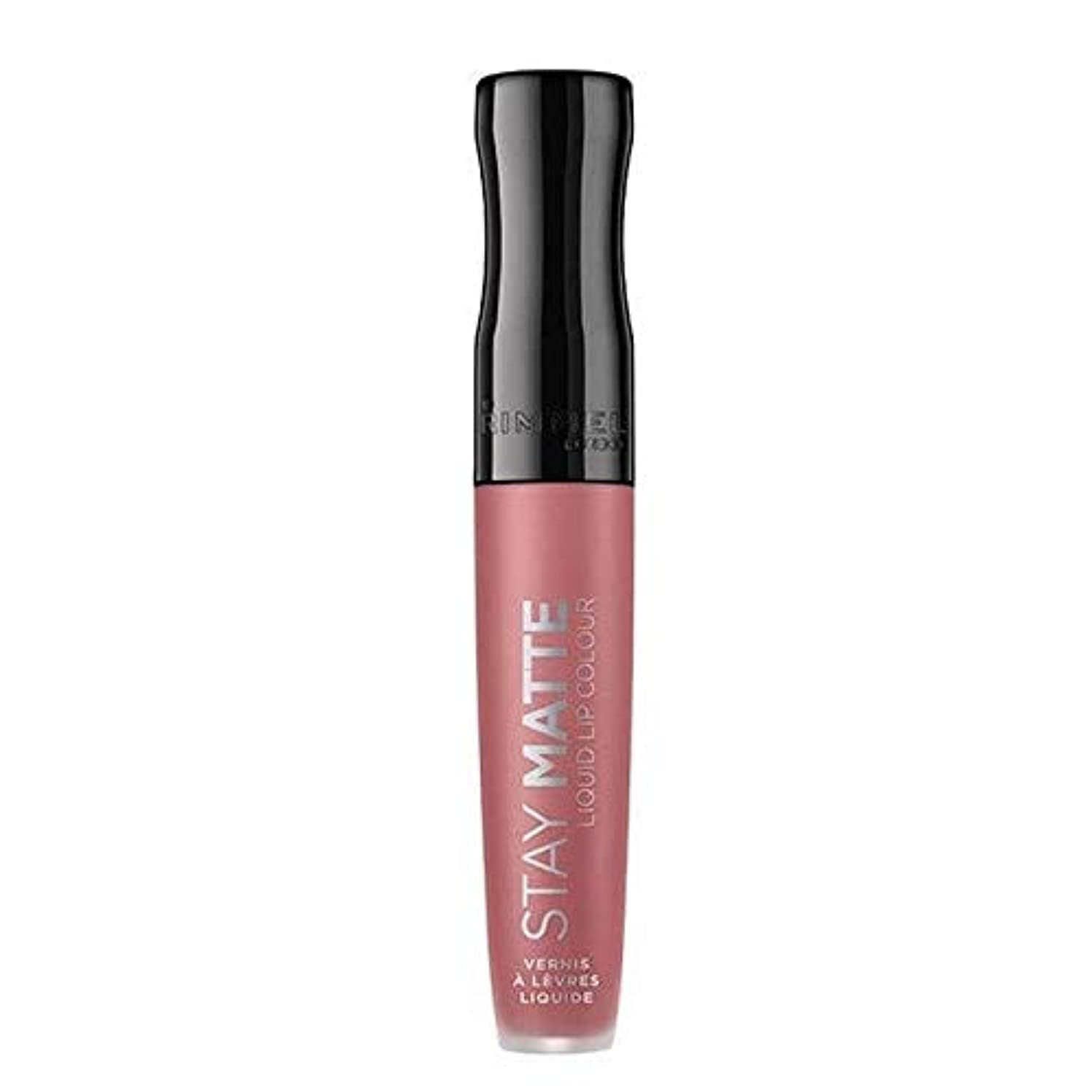 統合故国主流[Rimmel ] リンメルステイマット液状口紅赤面110 - Rimmel Stay Matte Liquid Lipstick Blush 110 [並行輸入品]