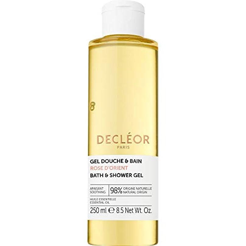 類似性にじみ出るベット[Decl?or ] デクレオールは、D'のオリエントバス&シャワージェル250ミリリットルをバラ - Decleor Rose d'Orient Bath & Shower Gel 250ml [並行輸入品]