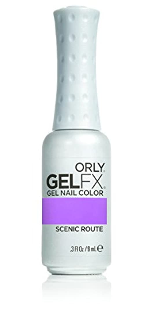 上がる眼ビットOrly GelFX Gel Polish - Scenic Route - 0.3oz / 9ml
