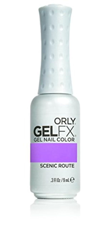 フラッシュのように素早く振り向く特権Orly GelFX Gel Polish - Scenic Route - 0.3oz / 9ml