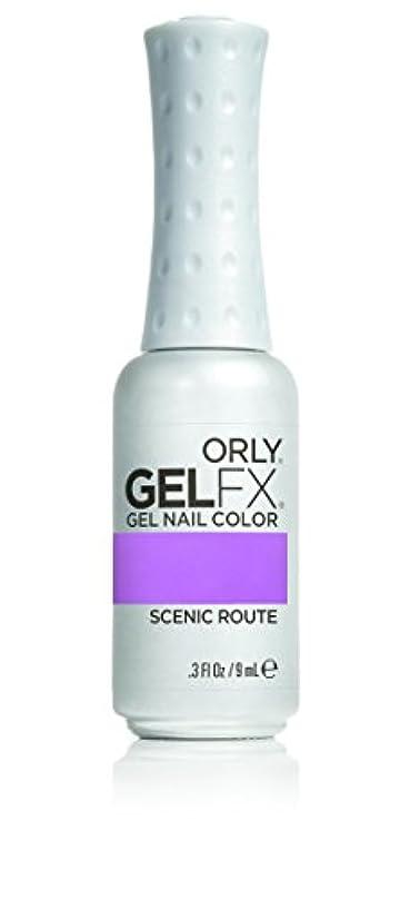 冒険者冗長コカインOrly GelFX Gel Polish - Scenic Route - 0.3oz / 9ml