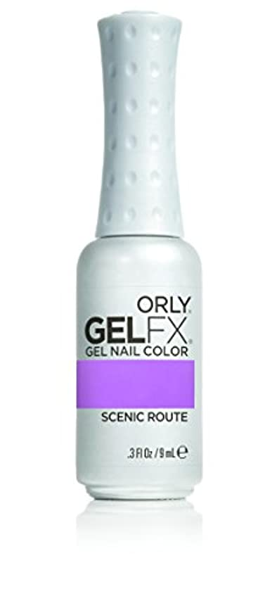 一時停止極めて重要な疲労Orly GelFX Gel Polish - Scenic Route - 0.3oz / 9ml