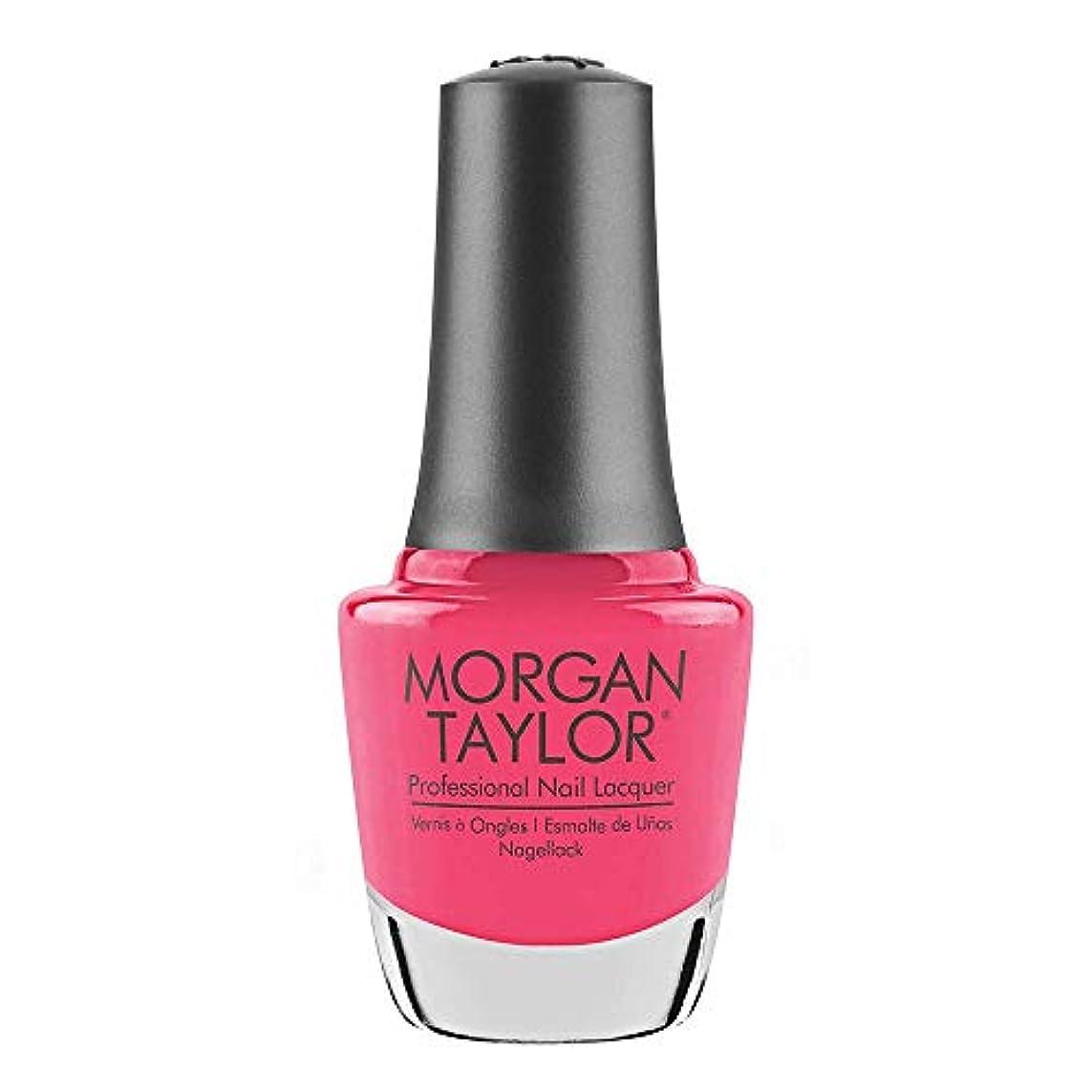匿名子供達考古学Morgan Taylor - Professional Nail Lacquer - Pretty As A Pink-ture - 15 mL / 0.5oz