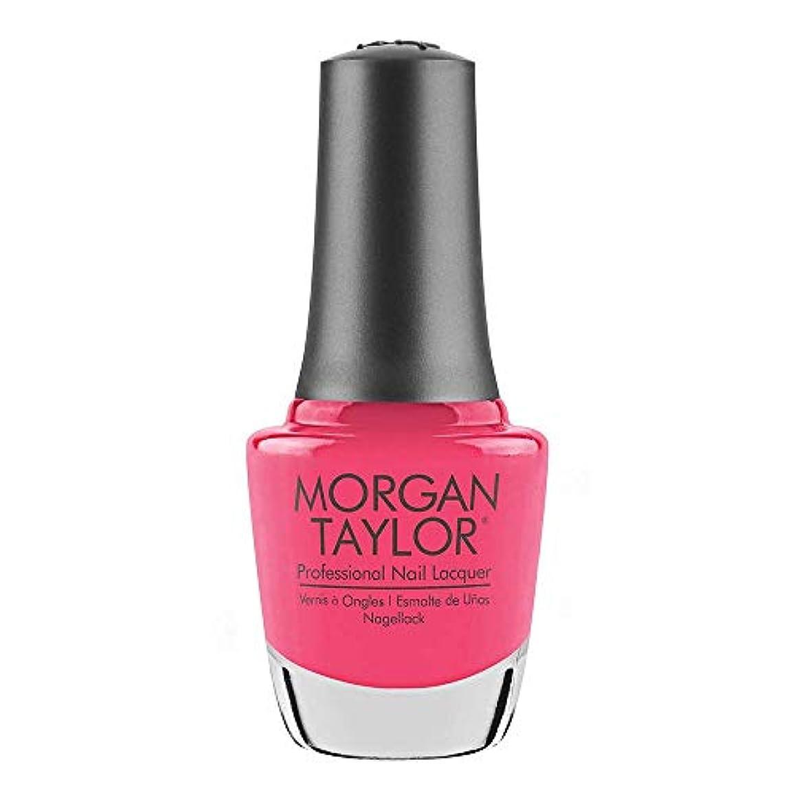 キノコ押し下げる現金Morgan Taylor - Professional Nail Lacquer - Pretty As A Pink-ture - 15 mL / 0.5oz
