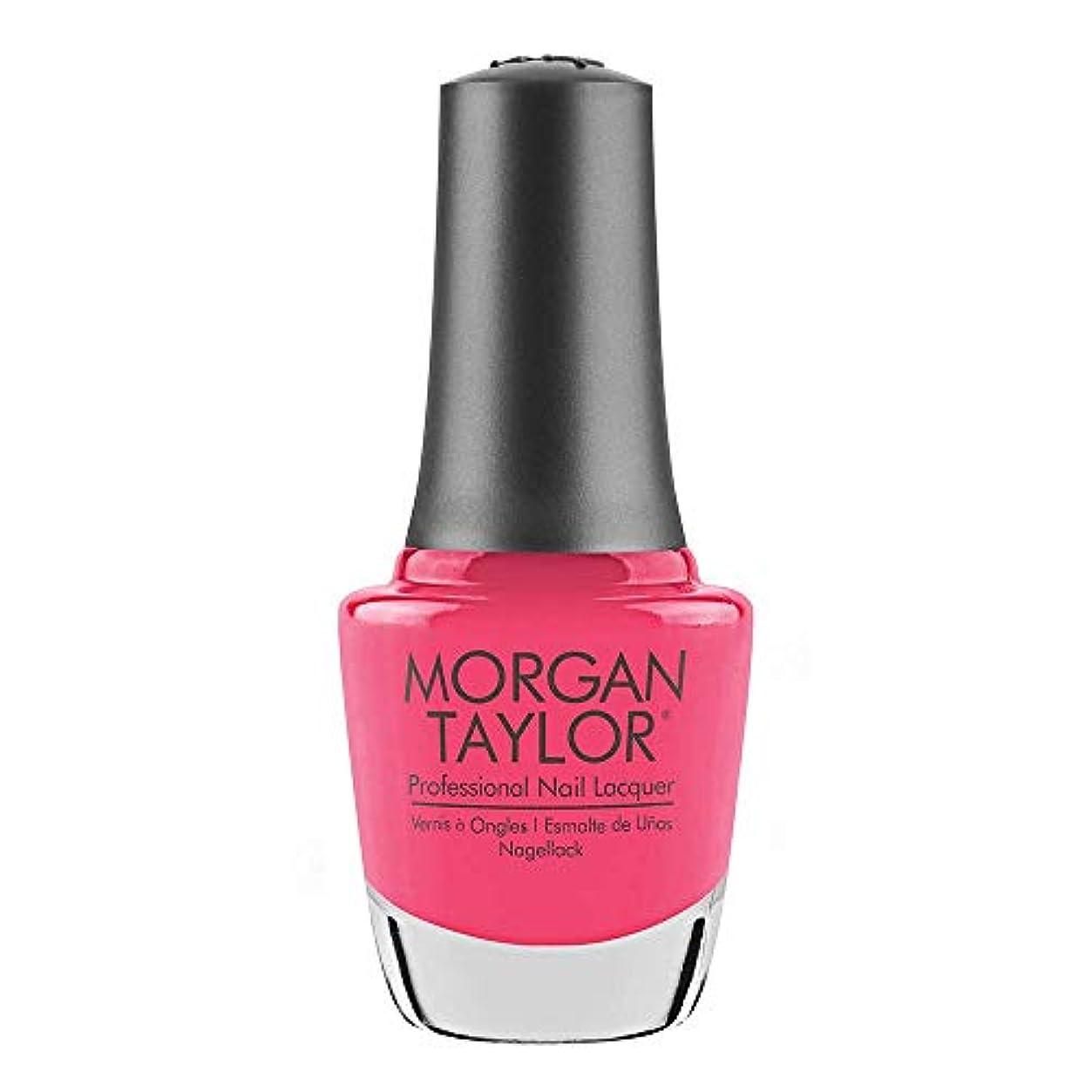 相続人機関車クリープMorgan Taylor - Professional Nail Lacquer - Pretty As A Pink-ture - 15 mL / 0.5oz