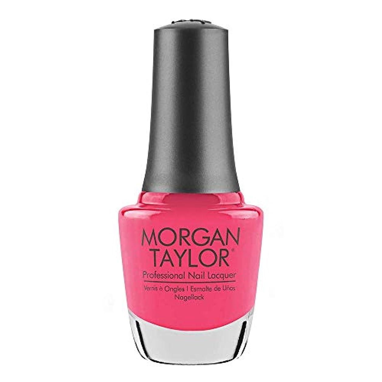 部門予想外衣装Morgan Taylor - Professional Nail Lacquer - Pretty As A Pink-ture - 15 mL / 0.5oz