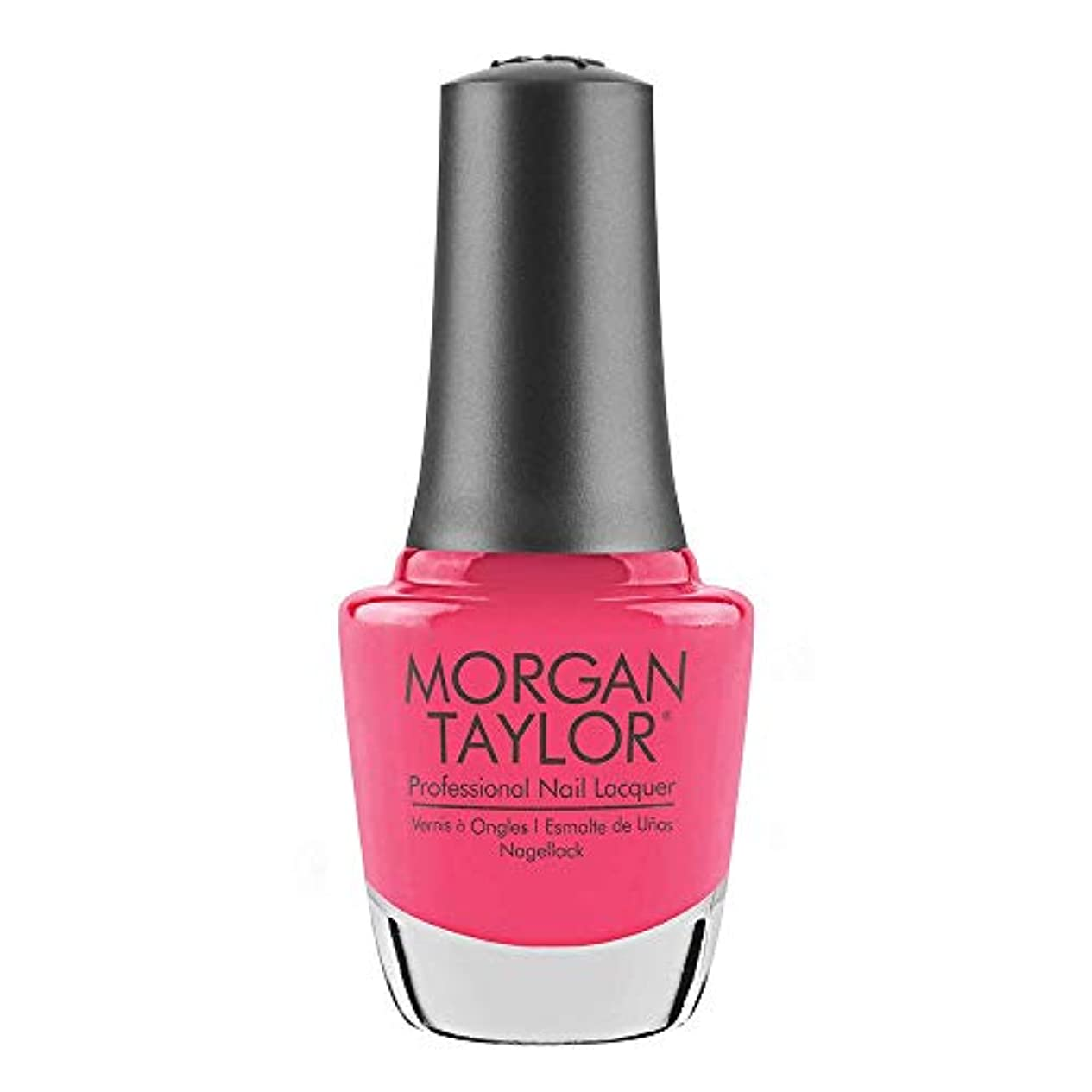 フルーツ賢い排除するMorgan Taylor - Professional Nail Lacquer - Pretty As A Pink-ture - 15 mL / 0.5oz