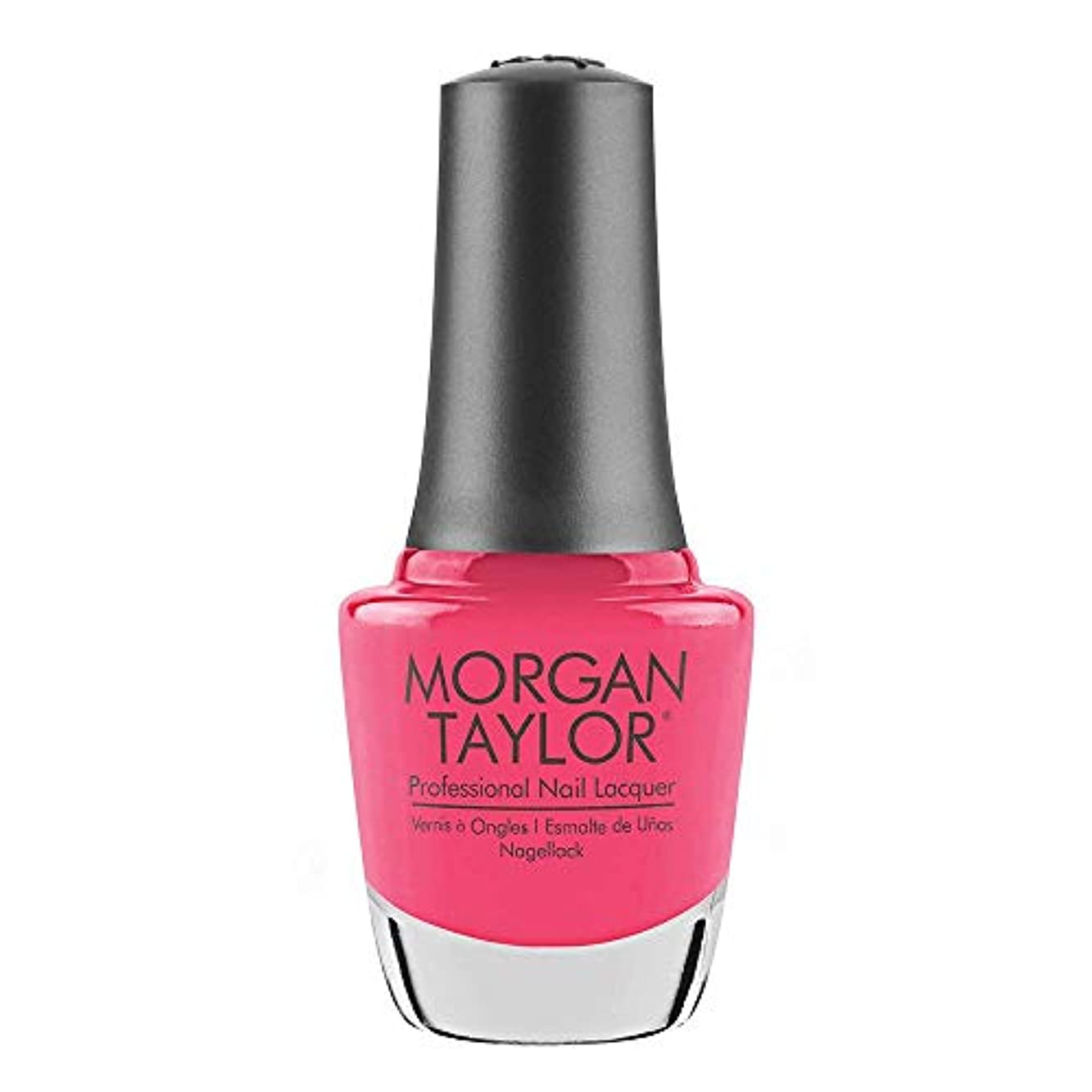 ギャロップ窒息させるグリルMorgan Taylor - Professional Nail Lacquer - Pretty As A Pink-ture - 15 mL / 0.5oz