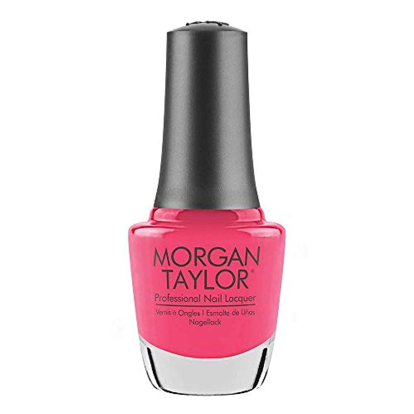 家禽潮振り返るMorgan Taylor - Professional Nail Lacquer - Pretty As A Pink-ture - 15 mL / 0.5oz