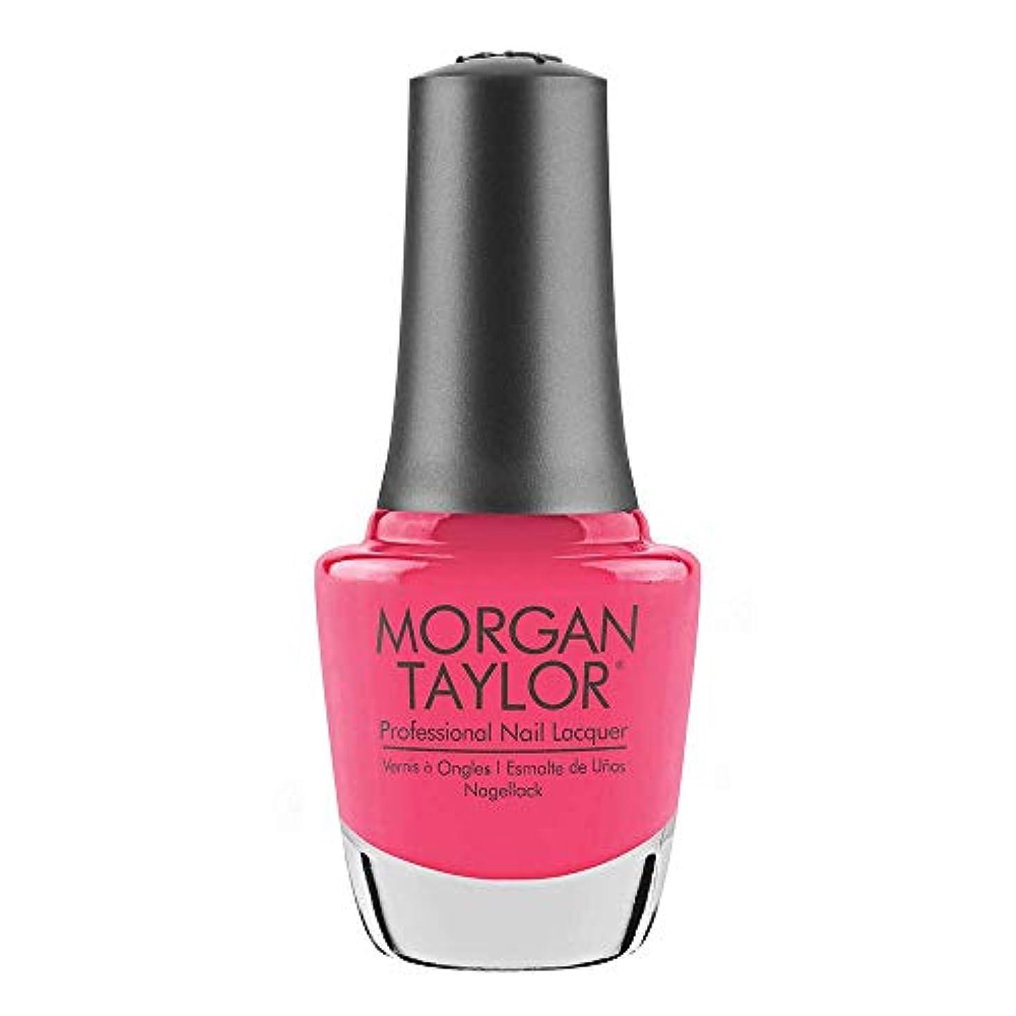商品同一性荒野Morgan Taylor - Professional Nail Lacquer - Pretty As A Pink-ture - 15 mL / 0.5oz