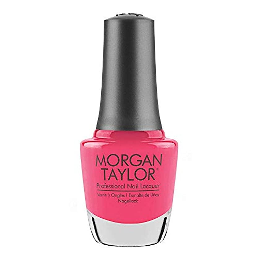動物動詞科学的Morgan Taylor - Professional Nail Lacquer - Pretty As A Pink-ture - 15 mL / 0.5oz