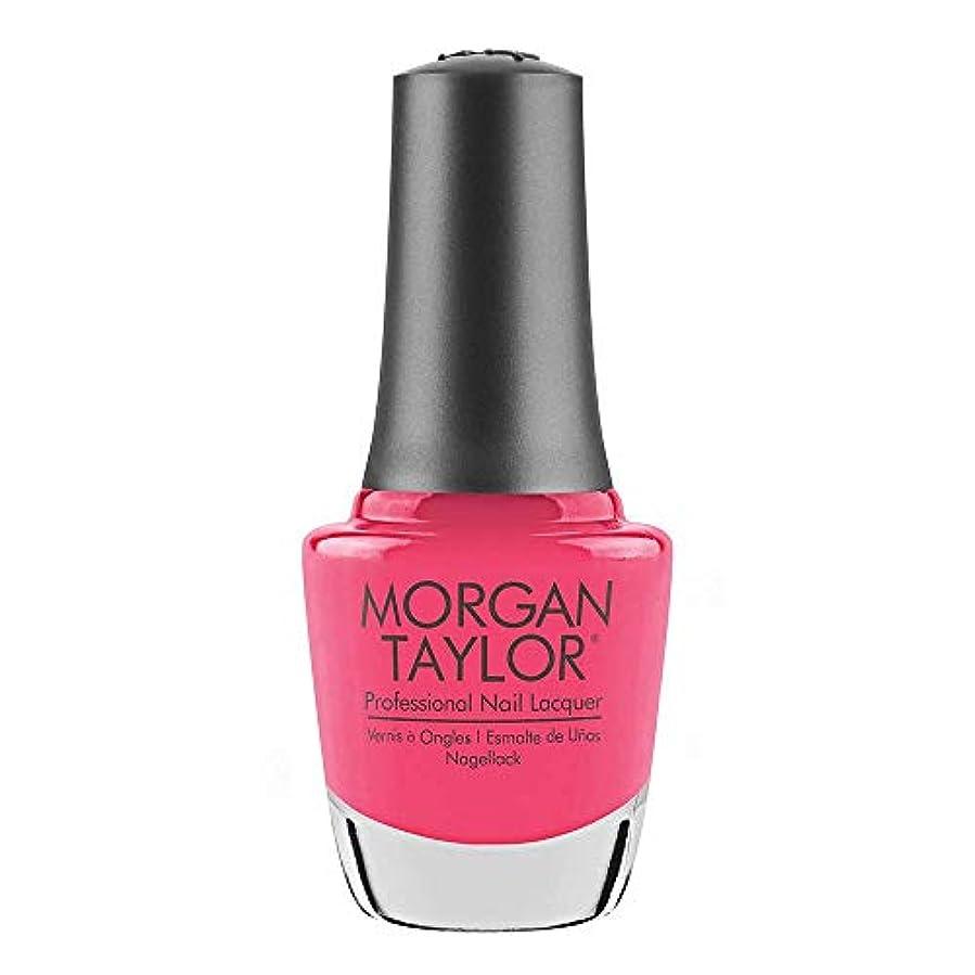 ドラム傾いた恩恵Morgan Taylor - Professional Nail Lacquer - Pretty As A Pink-ture - 15 mL / 0.5oz