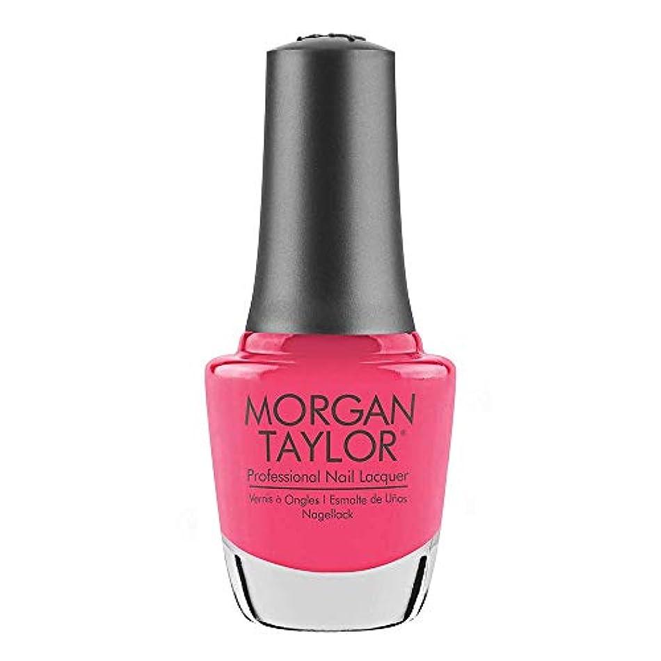 ヘビー迷彩しっとりMorgan Taylor - Professional Nail Lacquer - Pretty As A Pink-ture - 15 mL / 0.5oz
