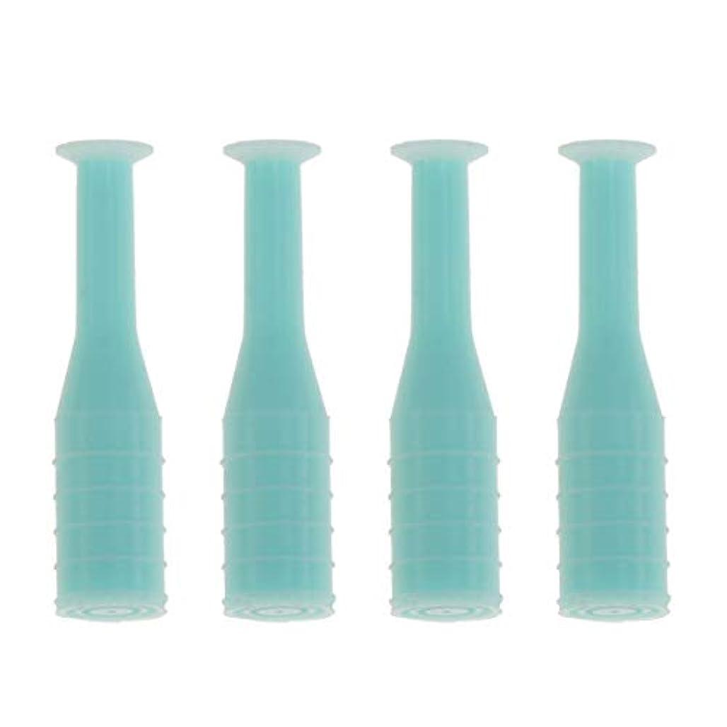 飾り羽狂うシネマHEALLILY 8本入りソフト/ハードコンタクトレンズインサーターリムーバブルコンタクトレンズサクションカップスティック工具用ボトル旅行用(緑)