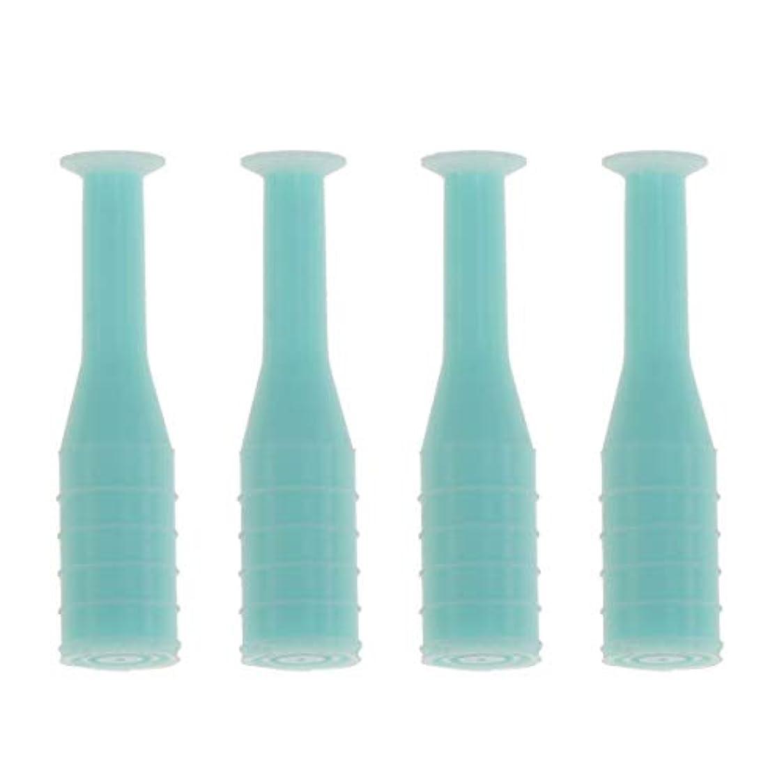 共和党優雅な柔らかいHEALLILY 8本入りソフト/ハードコンタクトレンズインサーターリムーバブルコンタクトレンズサクションカップスティック工具用ボトル旅行用(緑)