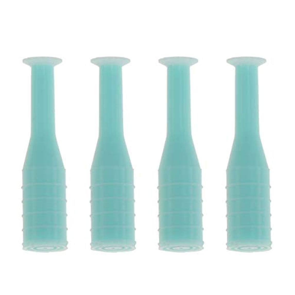 HEALLILY 8本入りソフト/ハードコンタクトレンズインサーターリムーバブルコンタクトレンズサクションカップスティック工具用ボトル旅行用(緑)