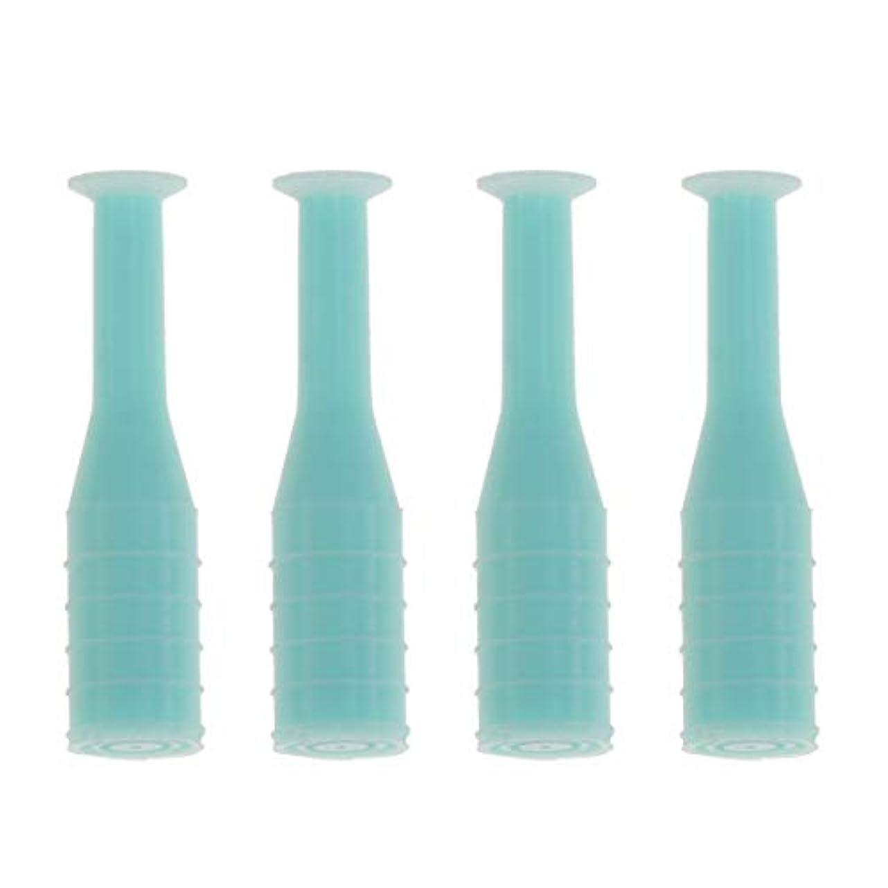 寝室を掃除するペネロペ注入HEALLILY 8本入りソフト/ハードコンタクトレンズインサーターリムーバブルコンタクトレンズサクションカップスティック工具用ボトル旅行用(緑)