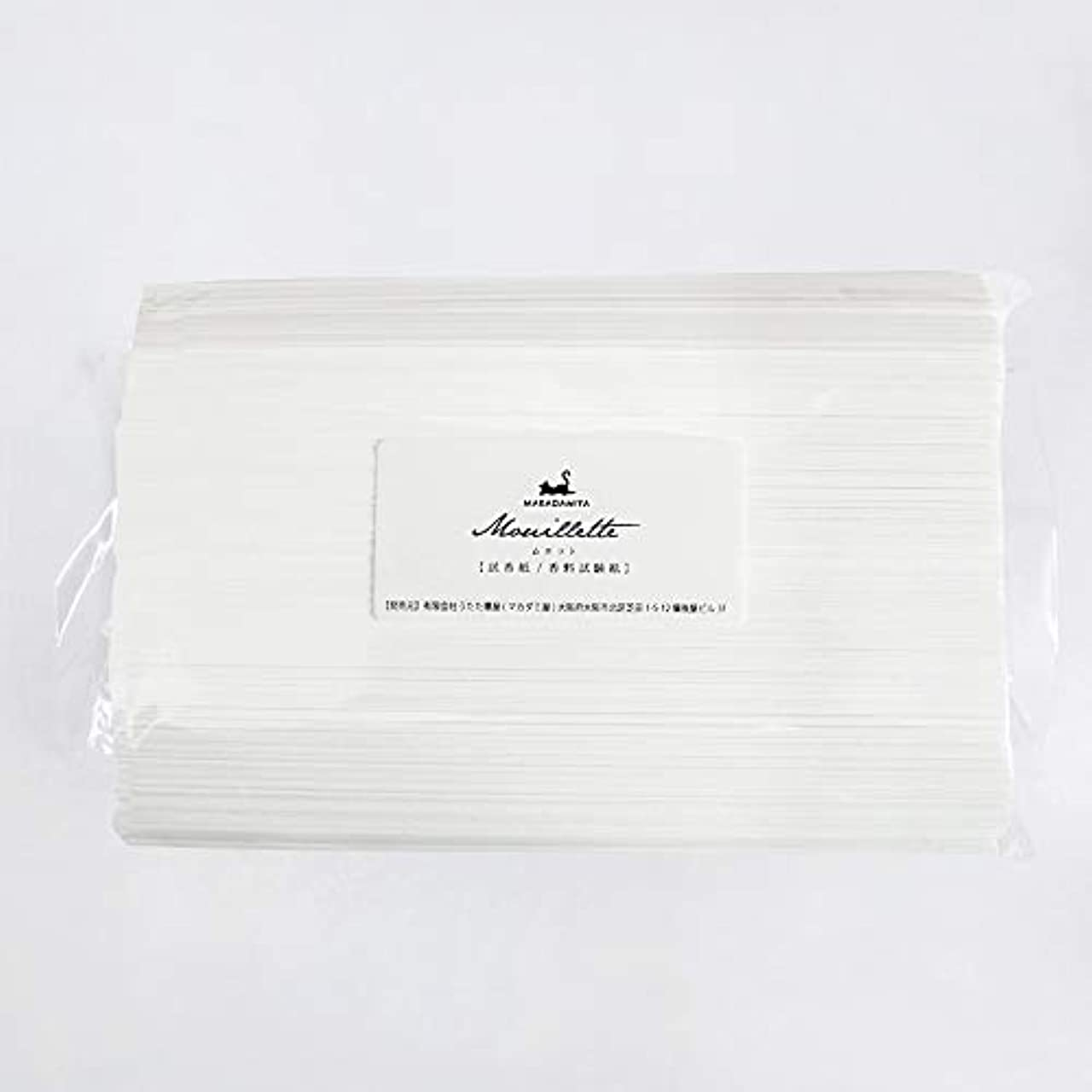極めて重要な意外ドライバムエット500本入り 大容量 プロ用(アロマ検定試験対応 試香紙 香料試験紙) マカダミ屋