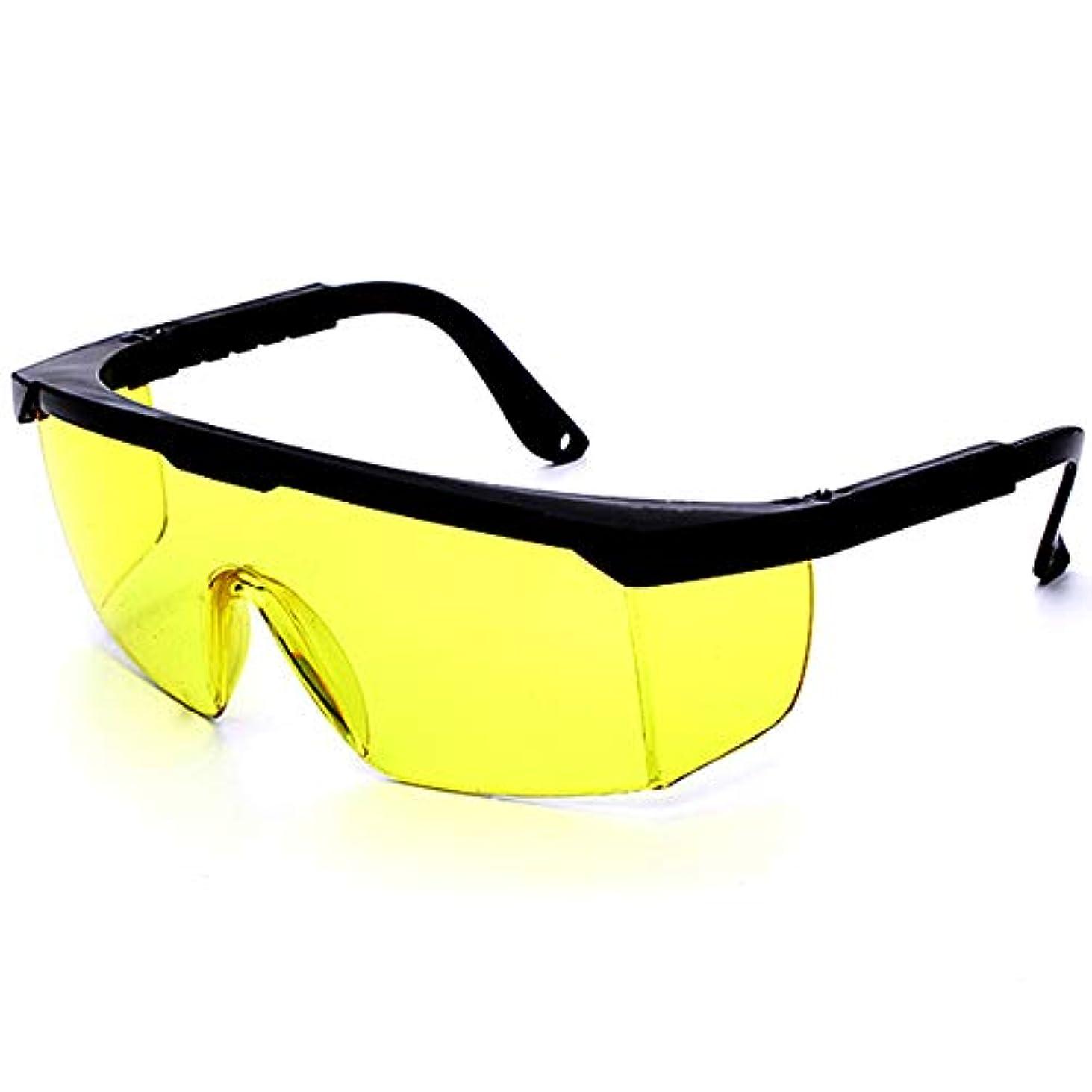 お茶神学校補うJiayaofu レーザー保護メガネIPL美容機器メガネレーザーペアIPLメガネ、安全メガネ