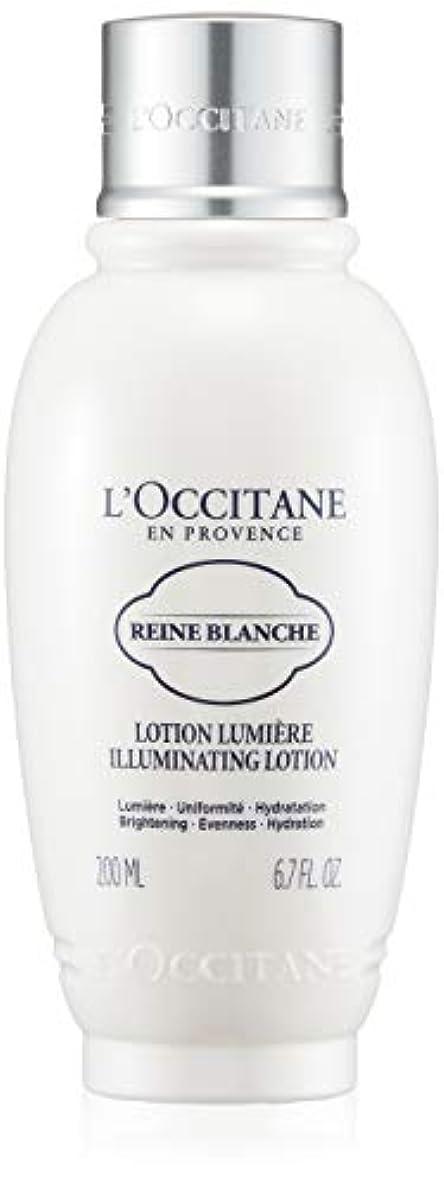 カリキュラム分類落ち込んでいるロクシタン(L'OCCITANE) レーヌブランシュ ブライトフェイスウォーター 200ml