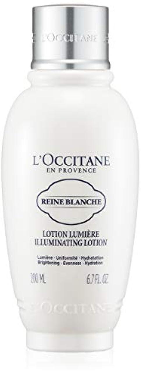 まろやかな流暢展望台ロクシタン(L'OCCITANE) レーヌブランシュ ブライトフェイスウォーター 200ml