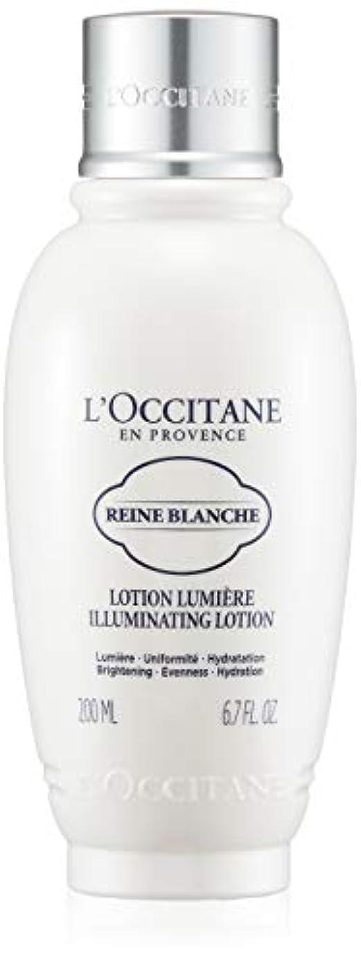 一元化する匹敵します土砂降りロクシタン(L'OCCITANE) レーヌブランシュ ブライトフェイスウォーター 200ml