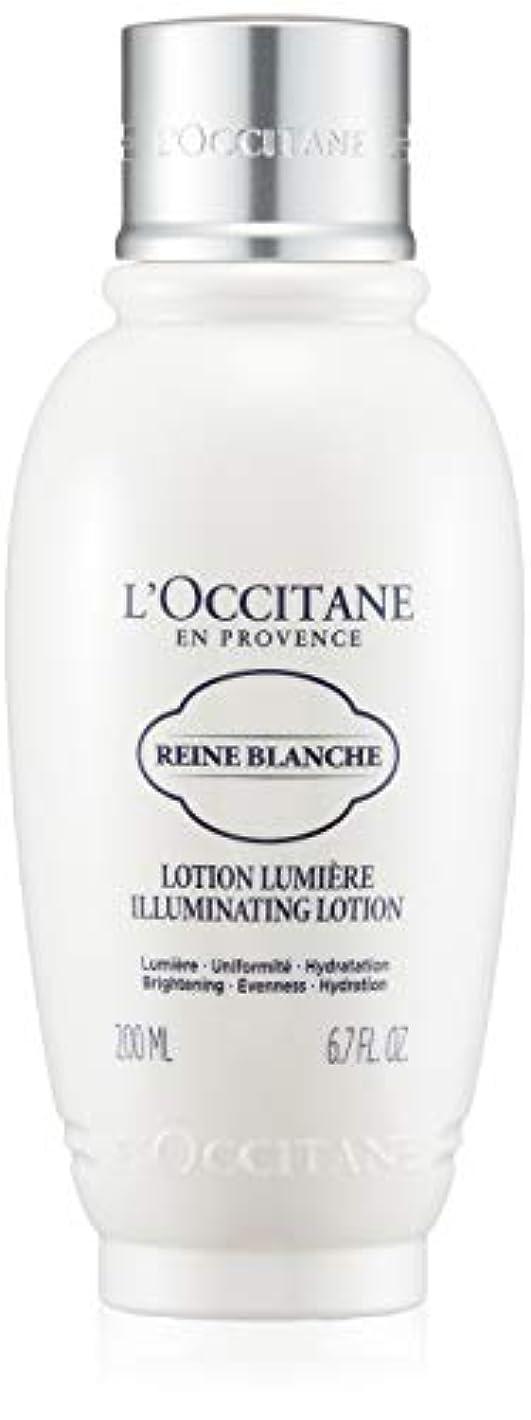 社会流感嘆ロクシタン(L'OCCITANE) レーヌブランシュ ブライトフェイスウォーター 200ml