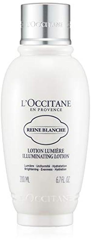 周り再現するアセロクシタン(L'OCCITANE) レーヌブランシュ ブライトフェイスウォーター 200ml