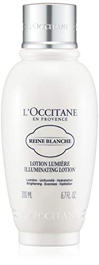 消化ドラム地域のロクシタン(L'OCCITANE) レーヌブランシュ ブライトフェイスウォーター 200ml