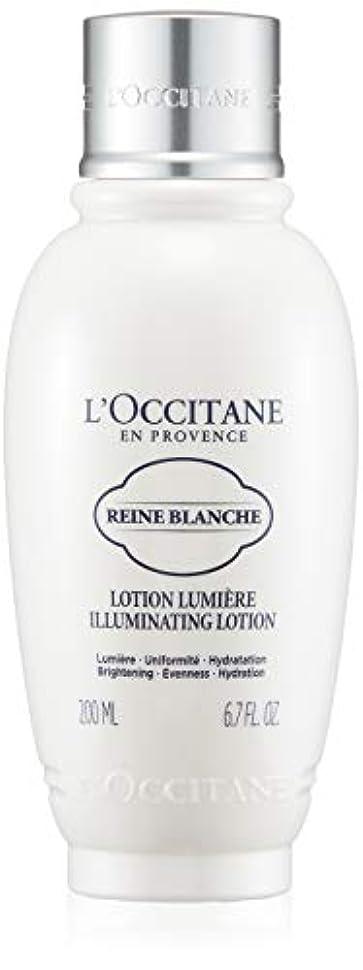 なめるカプラー規則性ロクシタン(L'OCCITANE) レーヌブランシュ ブライトフェイスウォーター 200ml