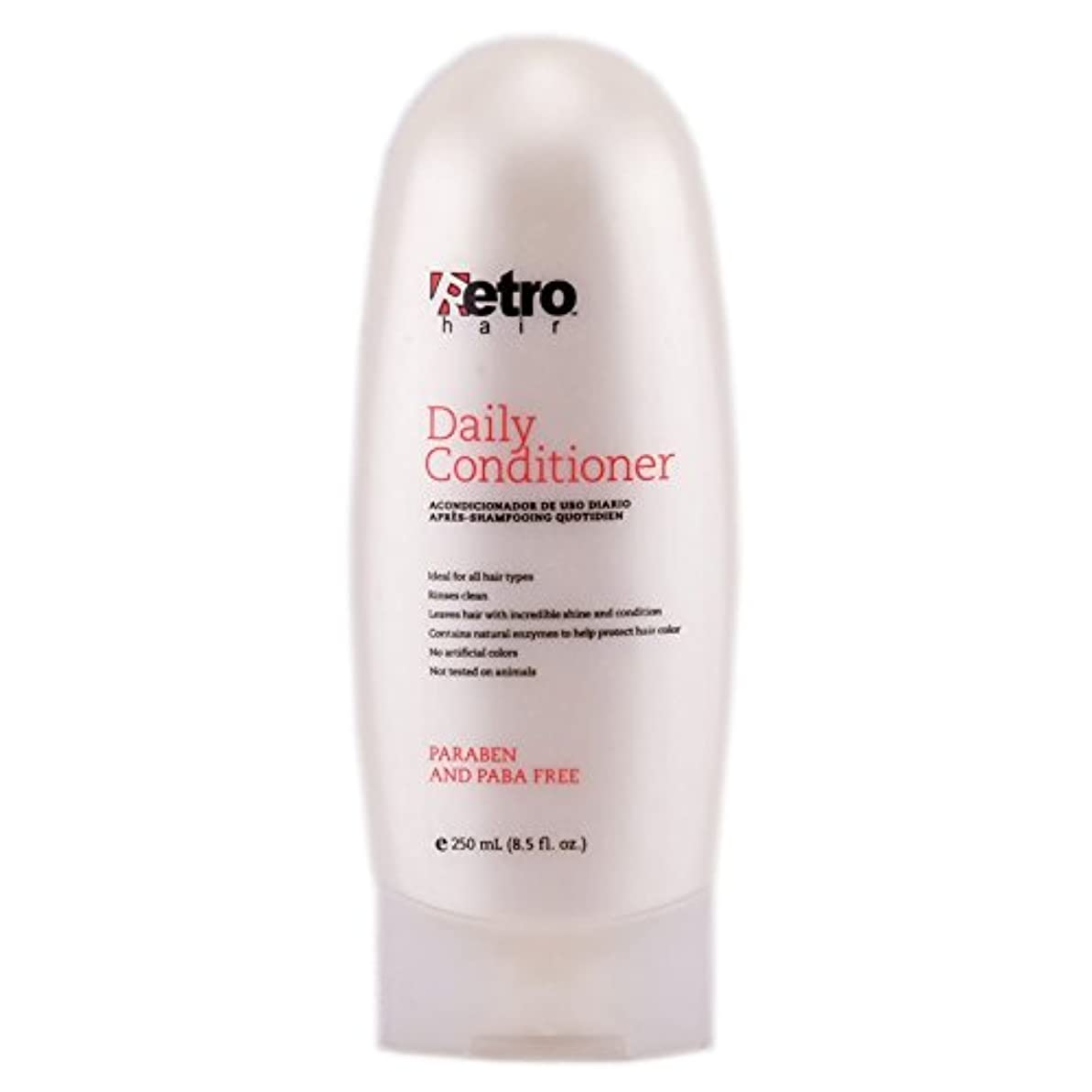 構成員怪しい割合Retro Hair Daily Conditioner, 8.5 Fluid Ounce by Retro Hair