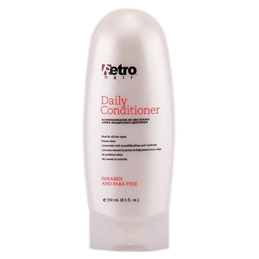 接ぎ木洪水積分Retro Hair Daily Conditioner, 8.5 Fluid Ounce by Retro Hair