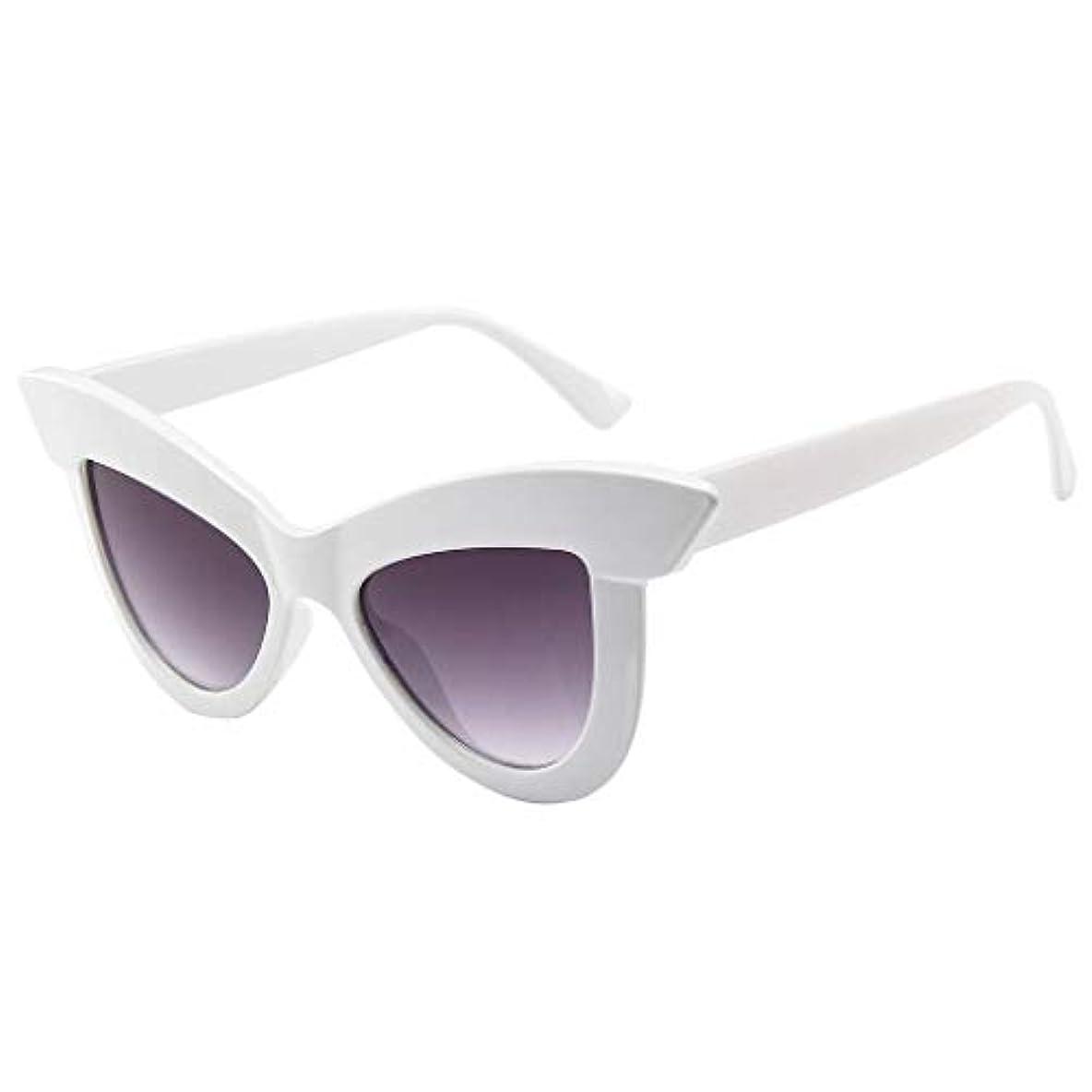 拮抗比較的学校の先生HPYOD HOME 女性パーティーアイウェアキャッツアイサングラス、レトロノベルティフレーム偏光眼鏡ブルーライトブロッキングメガネ2019新しい服セットアクセサリー