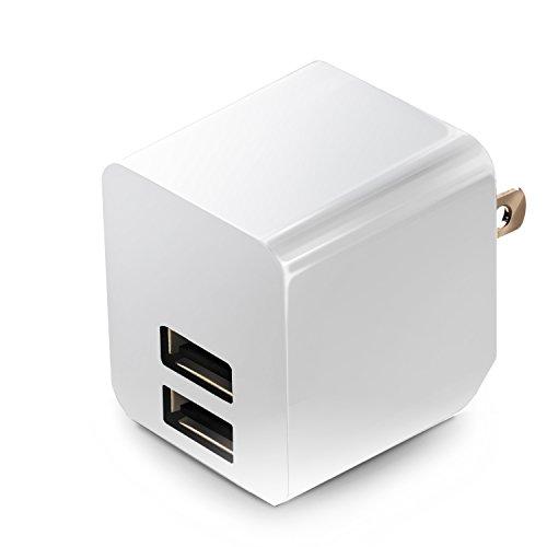 エレコム USB 充電器 ACアダプター コンセント [ iPhone & iPad & スマホ & IQOS & glo 対応 ] USB×2ポート...