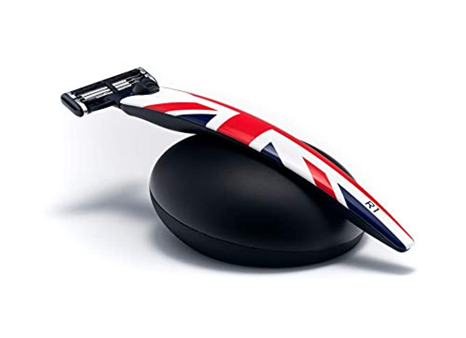 ジェット知らせる記憶イギリス BolinWebb カミソリ 名車と同じ塗装を施した プレミアムシェーバー R1 Jack ギフトセット モデル 替刃はジレット 3枚刃 マッハ3 に対応